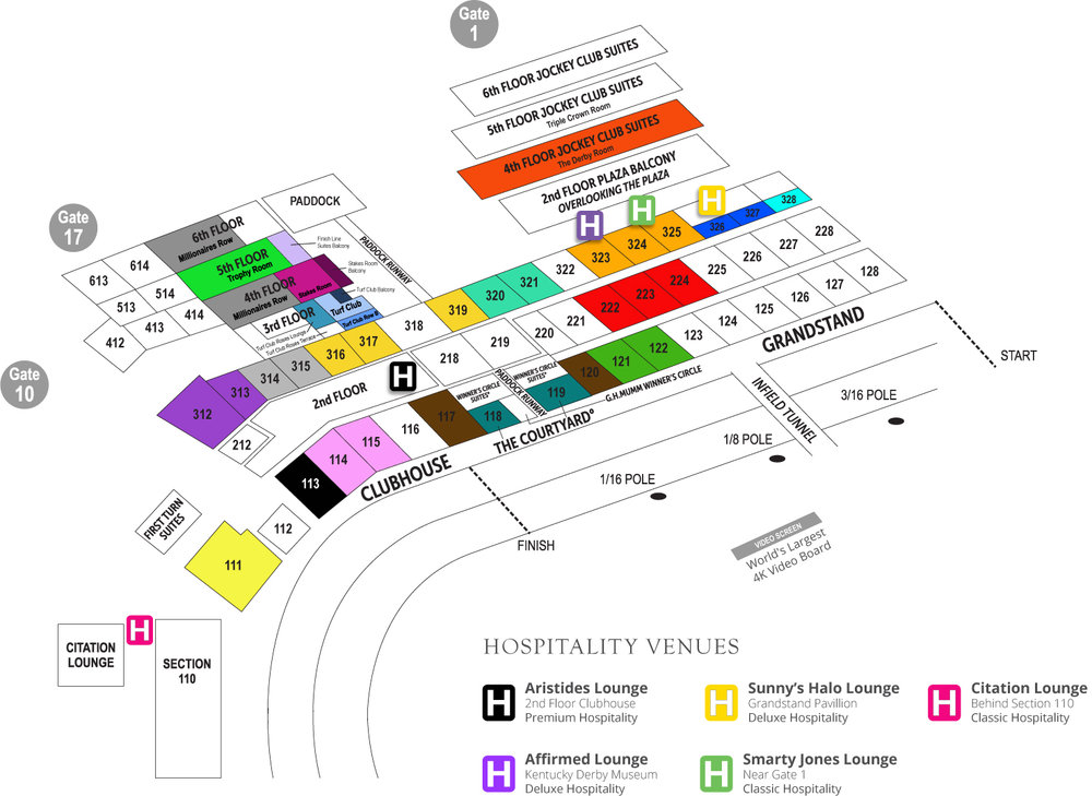 churchill downs kentucky derby seating map?format=1000w kentucky derby package seating guide sports travel & tickets