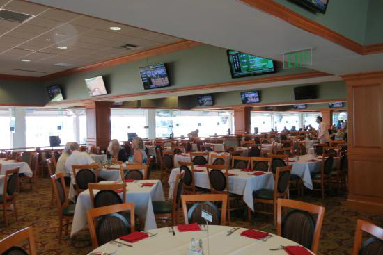 Millionaire's row tables on the 6th floor at churchill downs