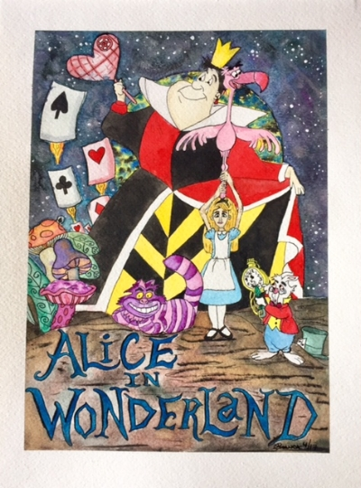 Alice in Wonderland Star Wars Mashup