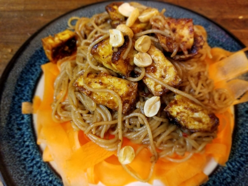 Peanut Butter Pad Thai ~ Next time I will add snap peas for a bit more colour.
