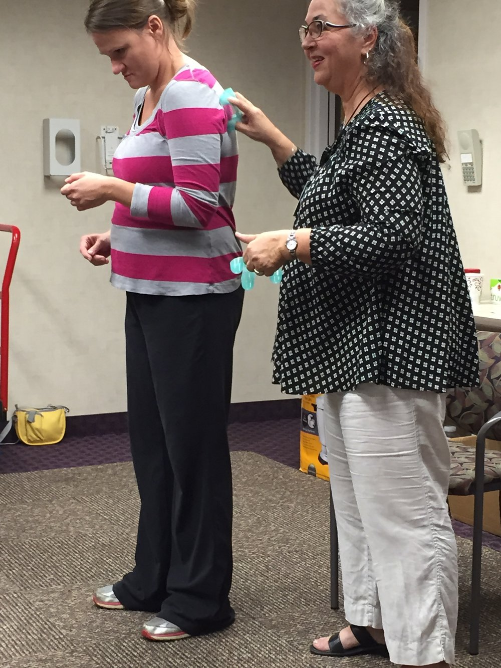 """""""It was a great learning experience and it was worth the wait. I would recommend Marla as an instructor."""" -Nancy"""