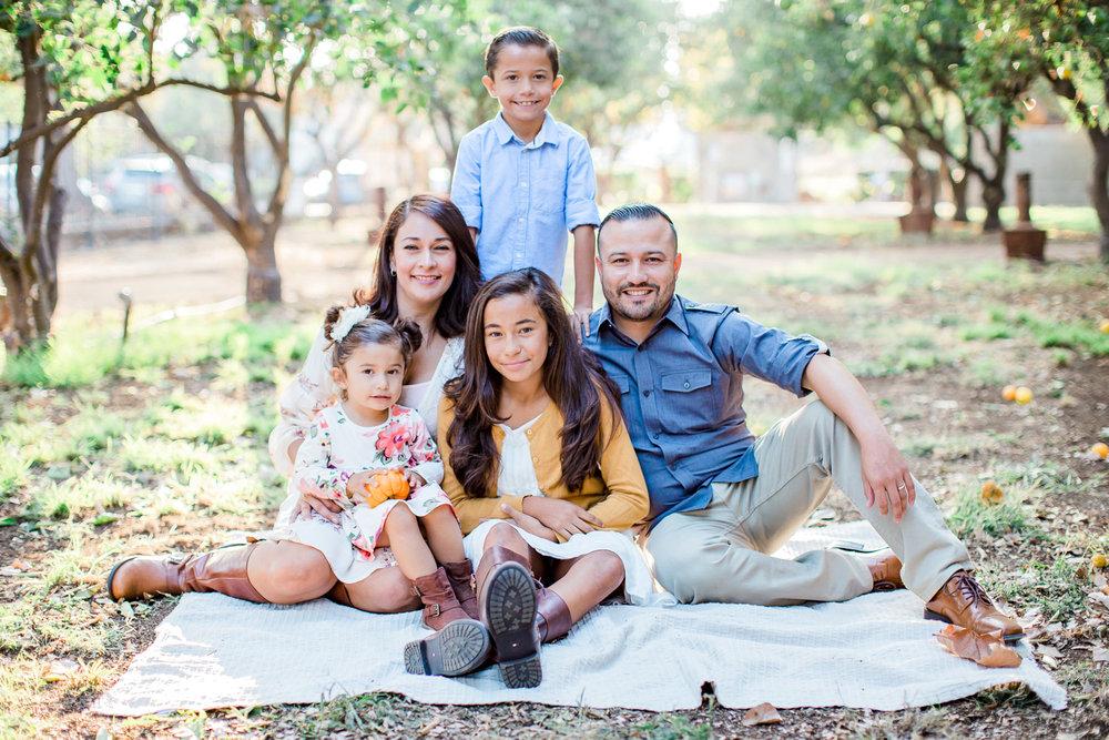 La Verne Heritage Park Pumpkin Patch | Berdugo Family Session | Family Photographer | La Verne, CA