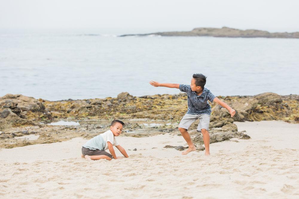 Cosico Family Session | Family Photographer | Laguna Beach, California