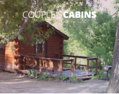 The couple's cabins are approximately 120 square feet, with a queen size bed.  As its name implies, the couples cabin accommodates up to 2 people in one bed.  The couples cabins have a toilet and shower, and also includes bedding and towels. The kitchenette features a 2 burner stove top (no oven), small refrigerator, microwave oven and sink.