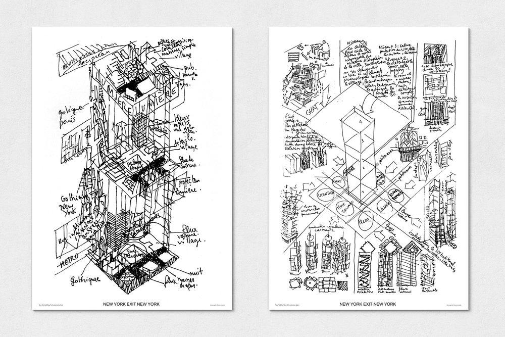 Drawing Virtual New York, Martin Lenclos