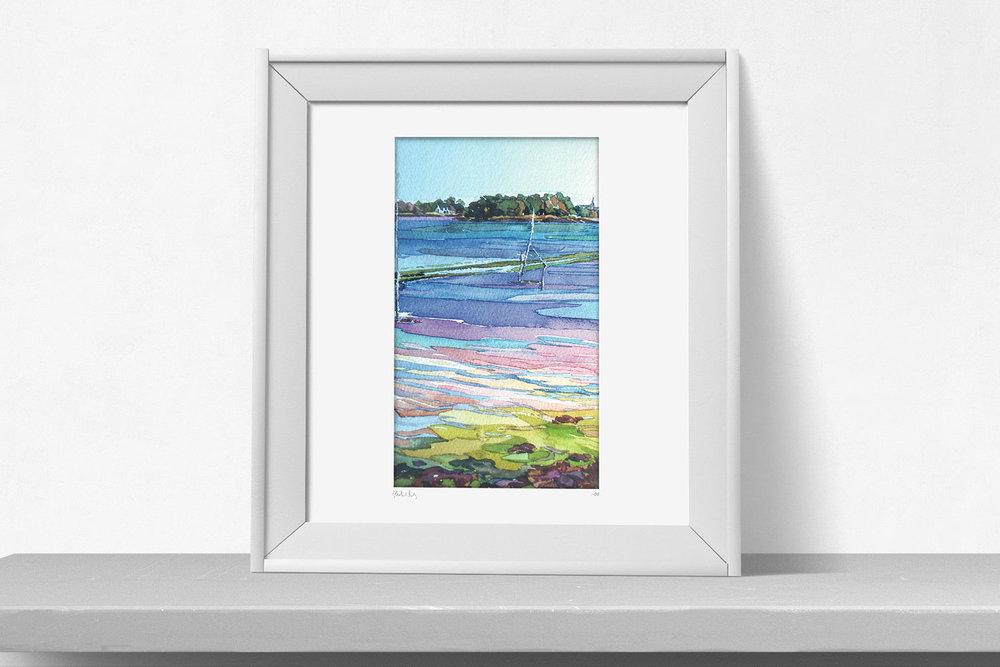 Watercolor Martin Lenclos