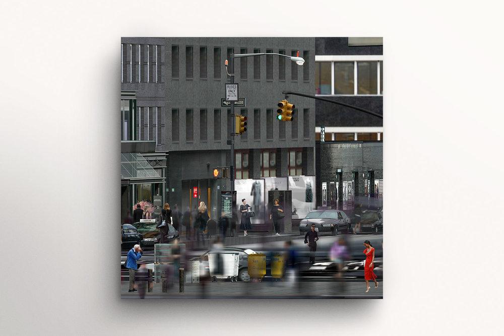 True Artist (36 Movie Frames of a Virtual World Series, No 9/36) Bill Cunningham