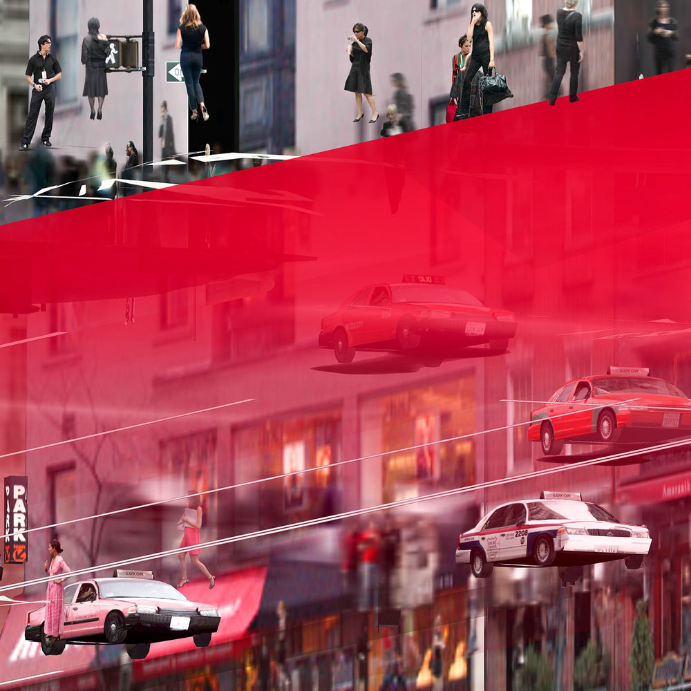 Another Place in the Same (36 Movie Frames of a Virtual World Series, No 26/36)