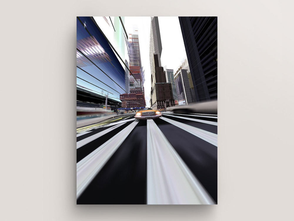 Split Second (New York Exit New York© Series, No. 5) by Martin Lenclos