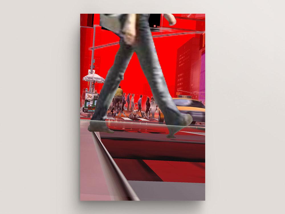 Don't Walk (New York Exit New York© Series, No. 14)