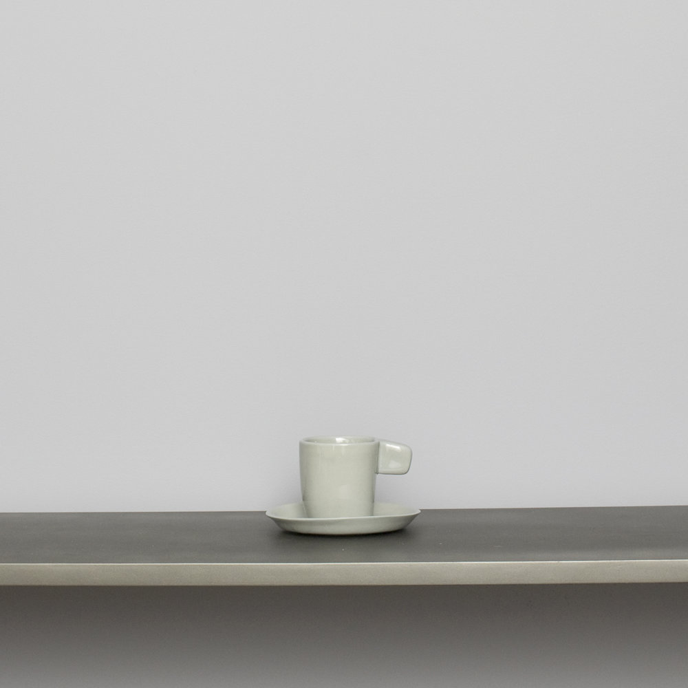 Light Gray Espresso Cup