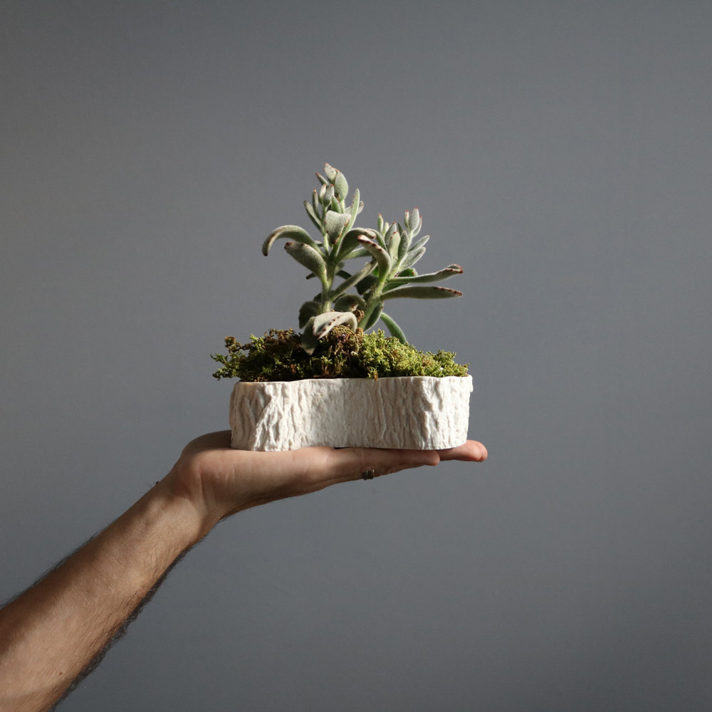 UNDER $75 :RAMO BOWL - Made from molds of strawberry branches, the Ramo Bowl is a unique catch-all for the entryway, a fun candy bowl in a living room, or the perfect vessel for your favorite succulent. Give a touch of nature.Handcrafted by Paula Valentimin Almeirim, Portugal.SHOP NOW >