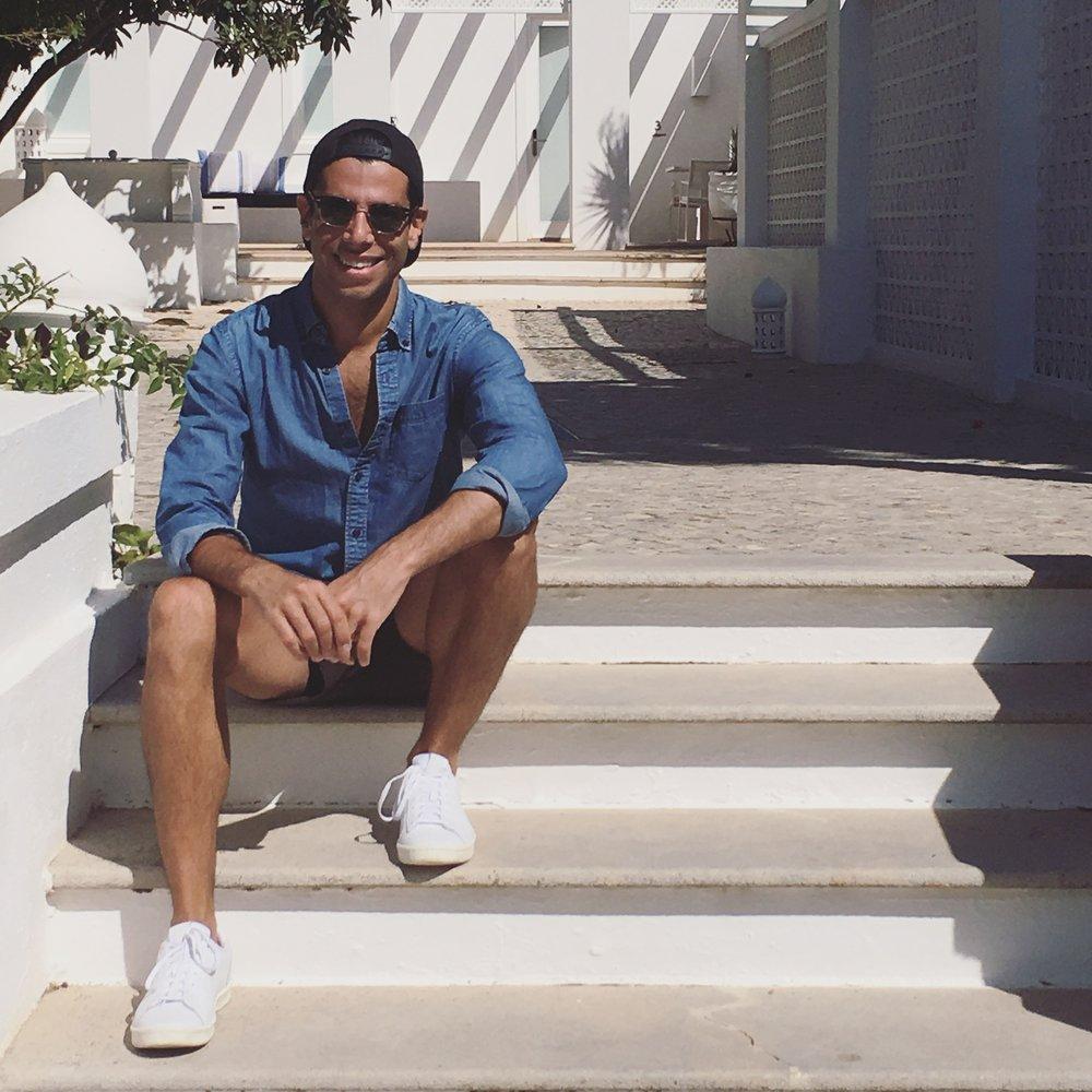 Carlos João in Southern Portugal