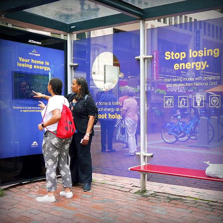National Grid    Interactive Outdoor    SEE THE WORK