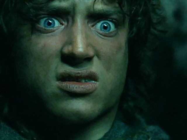 "Them: ""I've never been to Hobbit Cafe before."" You: *Frodo freakout*"