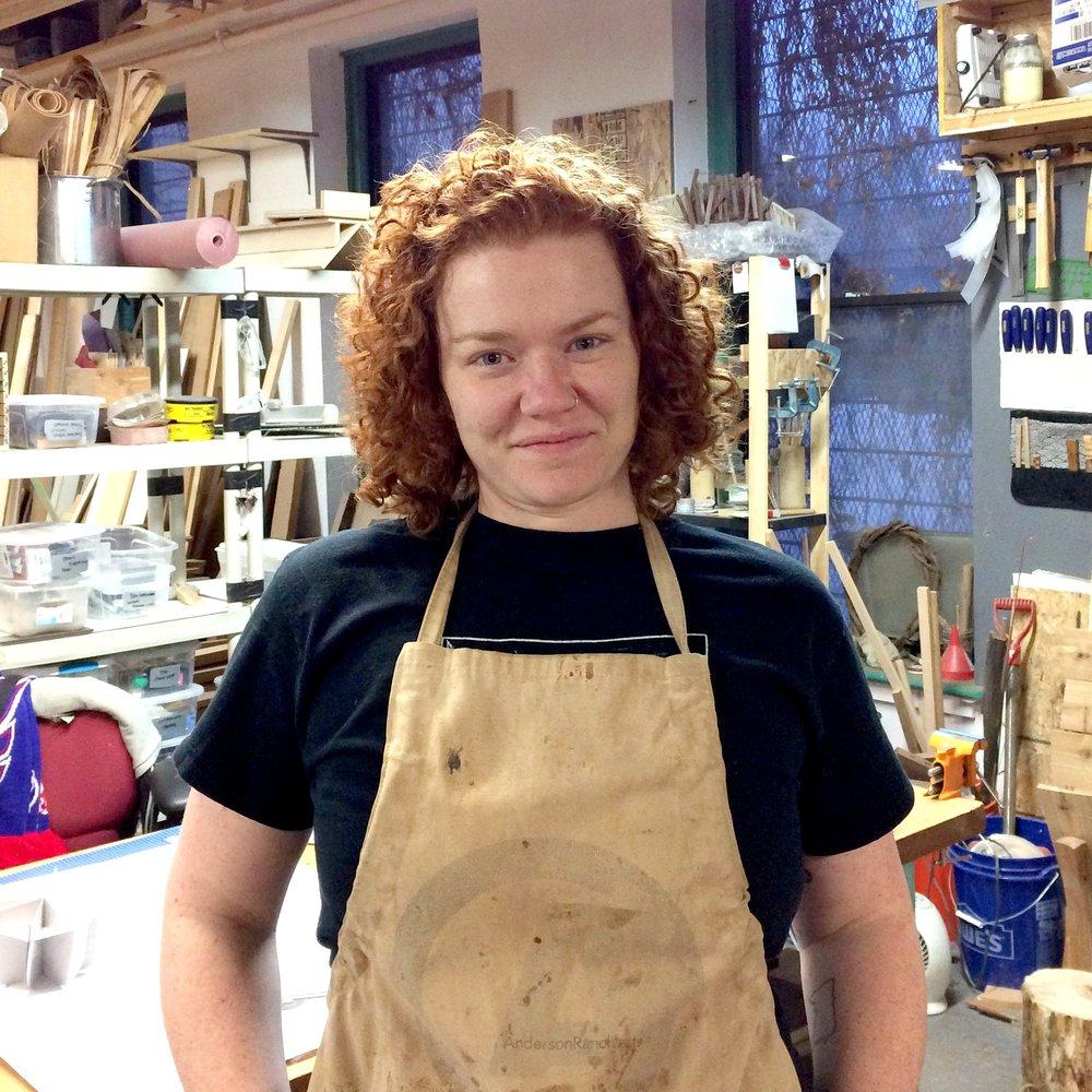 Teresa Audet - PRONOUNS: She/HerMEDIUMS: Wood, BrassWEBSITES: Website - Instagram