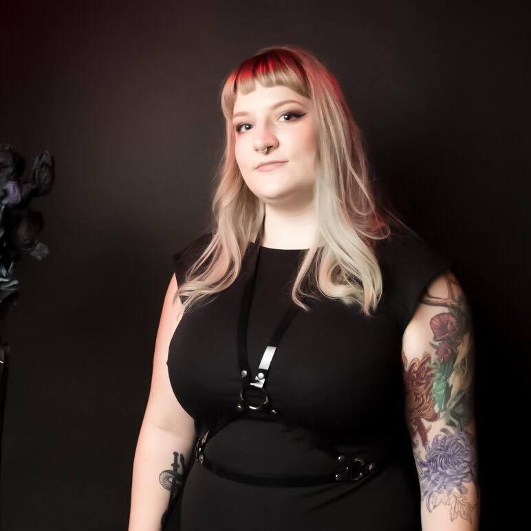 Lauren Roberts - PRONOUNS: She/HerMEDIUMS: Fashion Design, LeatherworkWEBSITES: Instagram - Facebook - Instagram