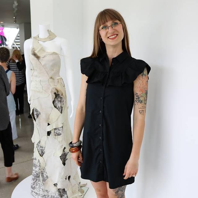 Shannon Molter - PRONOUNS: She/HerMEDIUMS: Fiber Sculpture, Installation, Garment MakiingWEBSITES: Website
