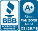 F P Builders is a BBB Accredited Home Builder in Novato, CA