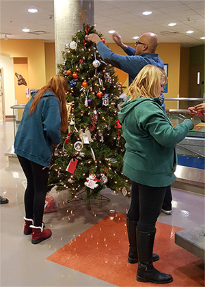 Adding past years' ornaments to Memory Tree 2016.