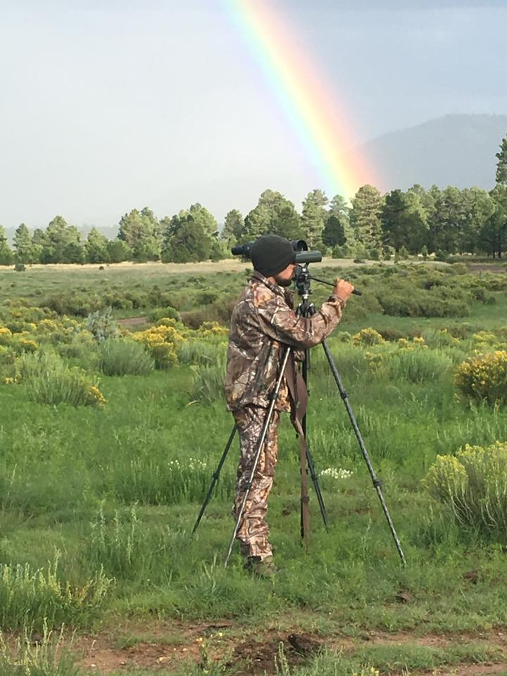 My brother, Ethan Hall, helps us whenever he can.  He is an all around big help, whether it is helping at camp, guiding, or spotting.  He will always give 110% and if you are hunting with him you are sure to have a great experience!