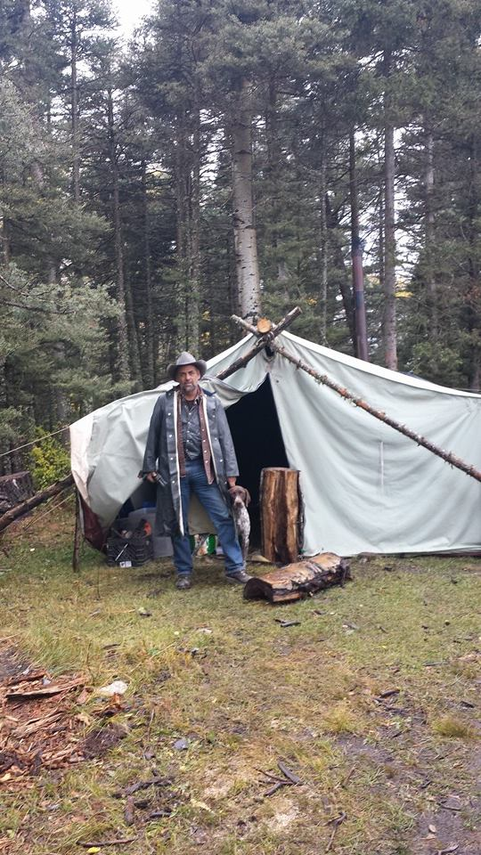 Brian Hall, my dad, will be sure you are kept fed and warm.  He is a big help when we have him at camp, whether he is cooking a warm meal after a long day in the field, or being sure that the firewood pile never runs low.  By the end of the hunt you will be glad he was in camp!