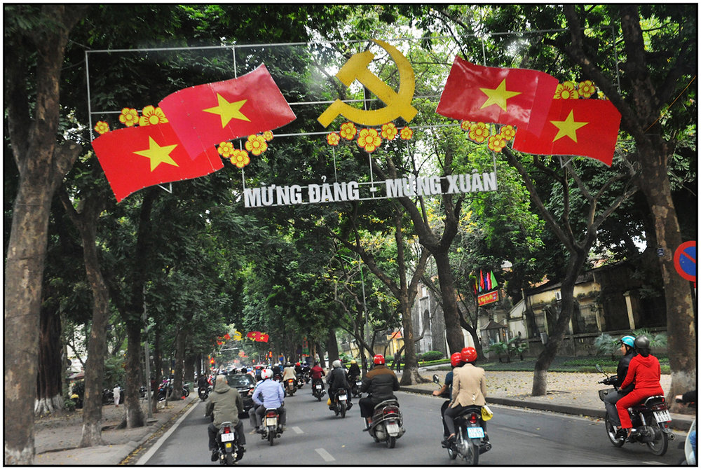 """Welcome Spring,"" Hanoi, Feb. 2015. #4515"