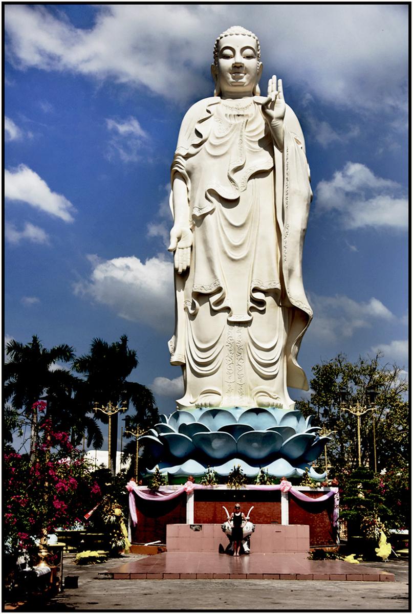 Van Phong Buddhist Pagoda, Mekong Delta, Dec. 2015. #8216