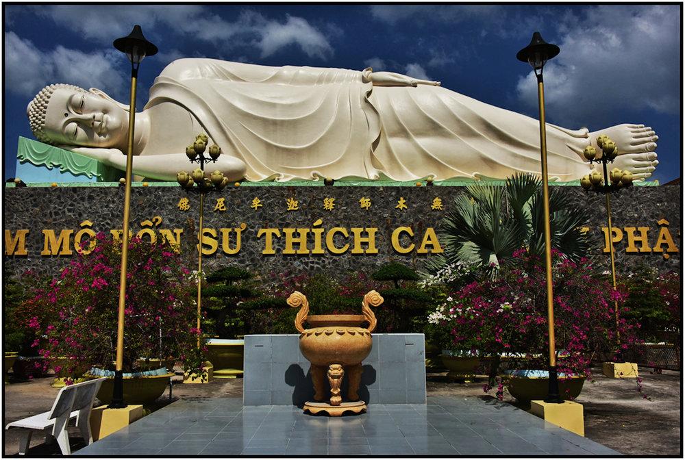 Van Phong Pagoda, Mekong Delta, Dec. 2015. #8211