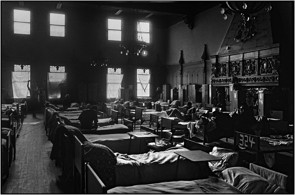 Men's Shelter, Atlantic Avenue Armory (AAA), Brooklyn.
