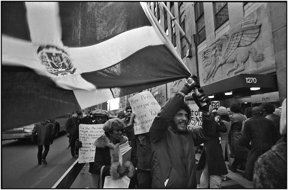 Dominican Republic, Fifth Avenue, NYC, February 25, 1977.