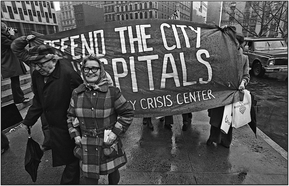 """People's Budget,"" Foley Sq., NYC, 1976."
