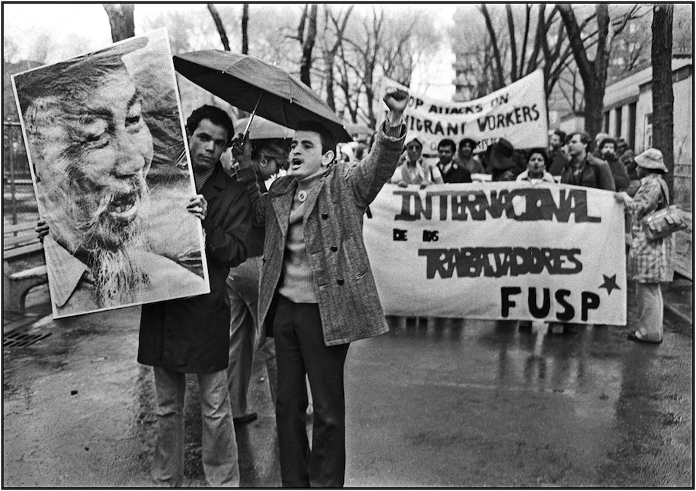 Vietnam-Puerto Rico Solidarity, Bronx NYC, 1975.