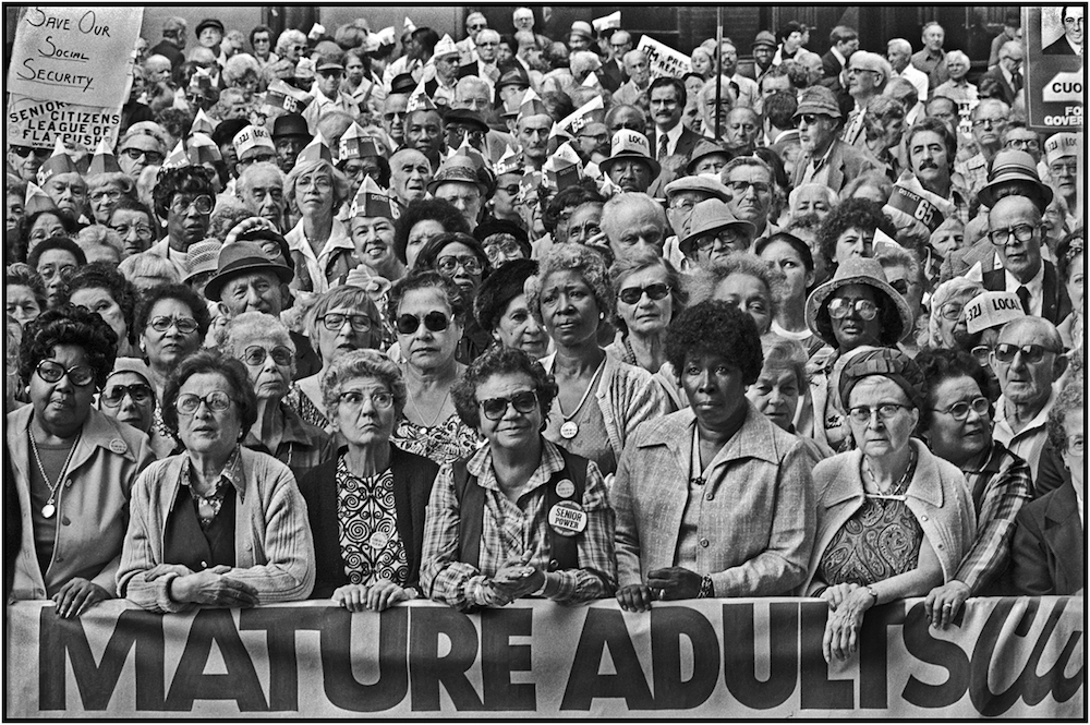 MATURE ADUILTS--NO CUTS IN SOCIAL SECURITY:::ASTOR PLACE:::OCTOBER 6, 1982   .jpg