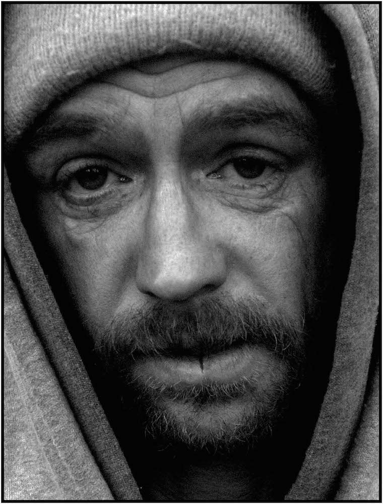 """Portrait of Poverty,"" NYC, 2006."