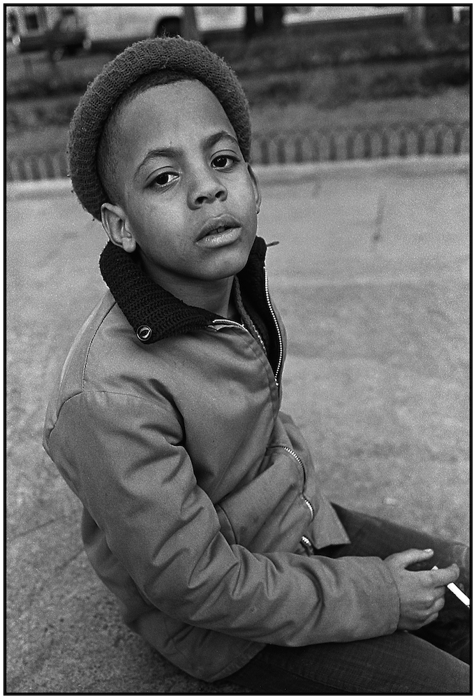 """Shoeshine Boy,"" Central Park South, NYC, 1964."