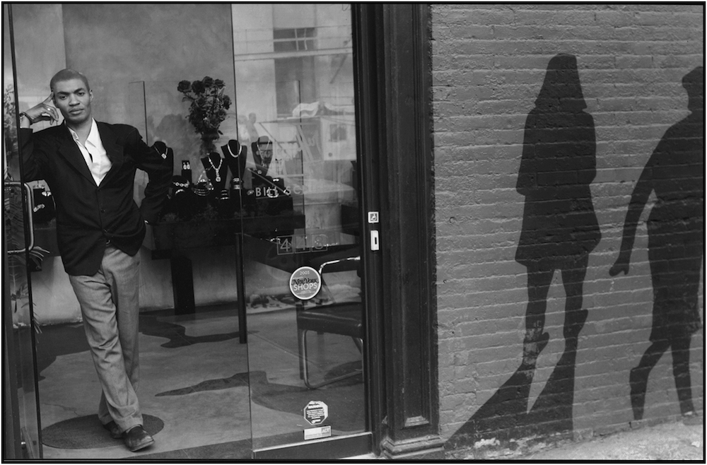 """Shadows,"" SoHo, NYC, 2009."