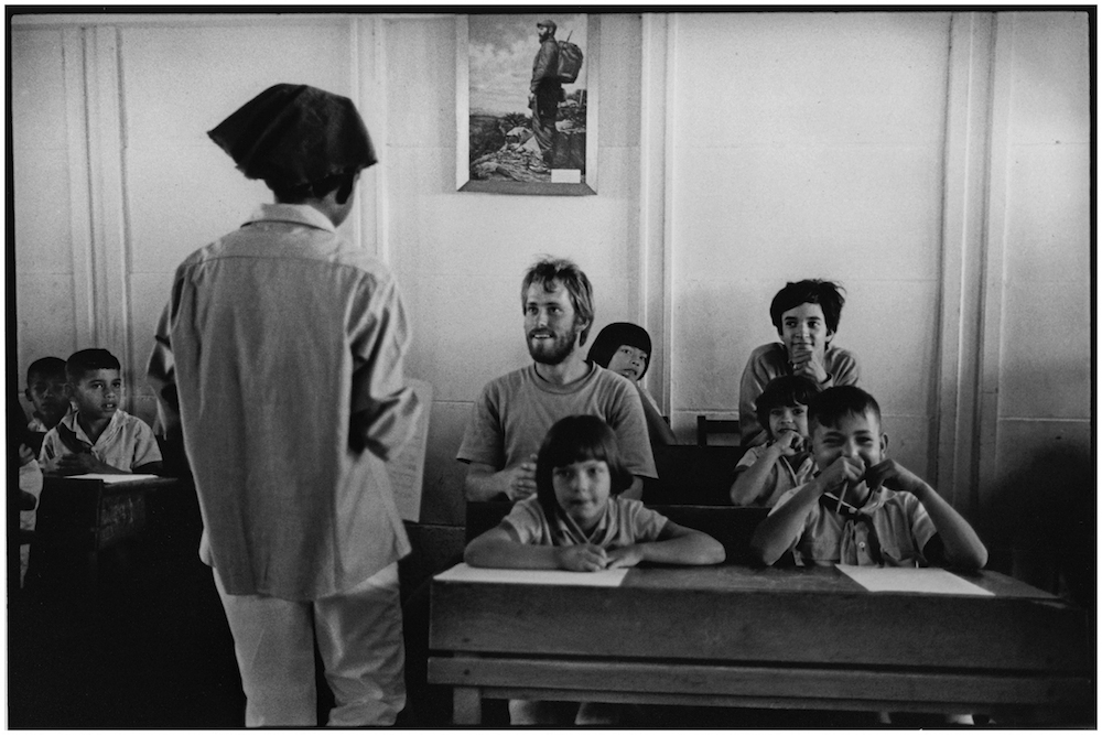 FIRST VENC BRIGADISTAS  CLASSROOM  SANTIAGO  1969   39-11   George Cohen   copy.jpg