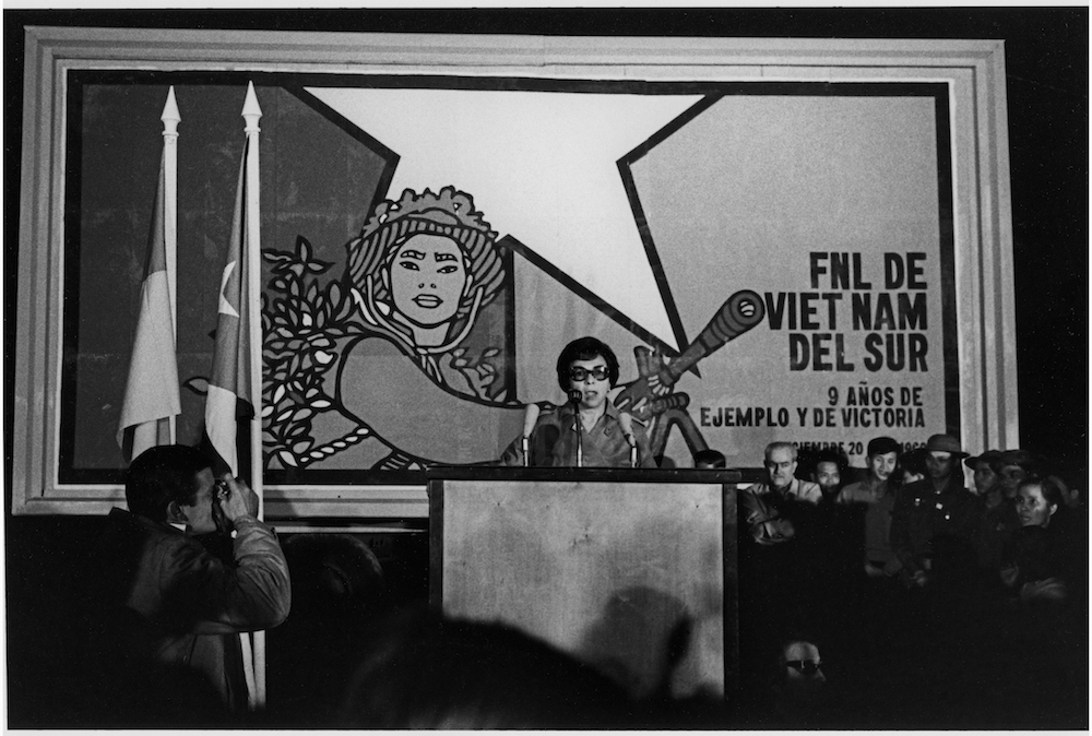 MELBA HERNANDEZ head of OSPAAL--BEN TRE  FIRST VENC BRIGADE  1969   George Cohen    copy.jpg