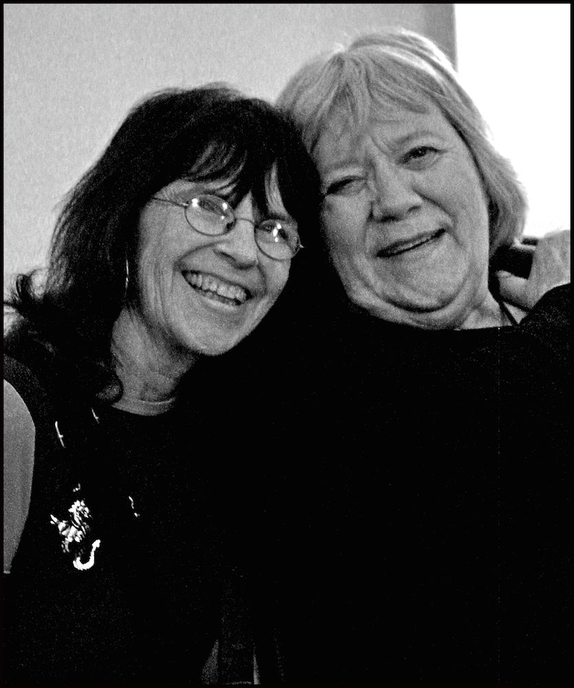 Bev Grant and Barbara Dane, 2006.