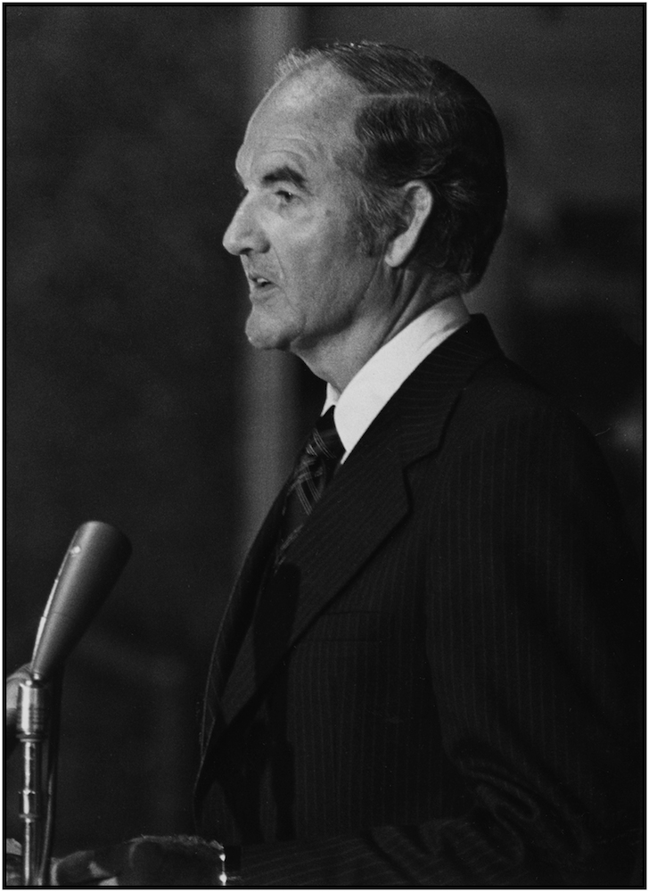 George McGovern.
