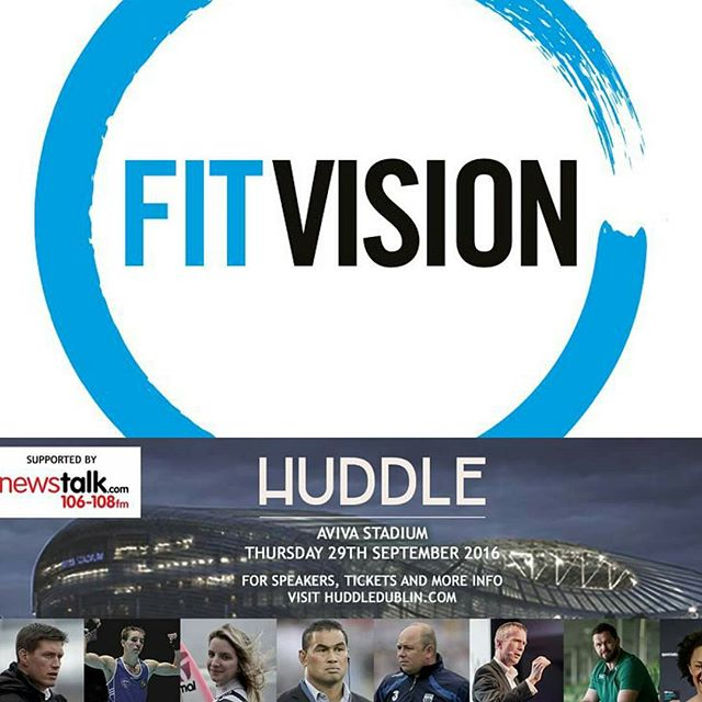 Delighted to be involved in Huddle Dublin, an event which promotes the elements of elite sports and how you can adopt them into your personal and  professional life. We will have stand where we will discuss how corporate wellness programmes can help enhance your employees working experience.  The event takes place on Saturday 29th of September, hope to see you there!  @huddledublin  #fitness #fit #fitvision #irishfitfam #fitfam #motivation #training #results #progress #wellness #lifestyle #feelgood #healthy #exercise #workout #optimum #energy #work #business #huddle #dublin #event #corporate #wellbeing