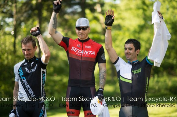 Joseph Grgic at the top of the 2013 DJ Central Park Classic Podium