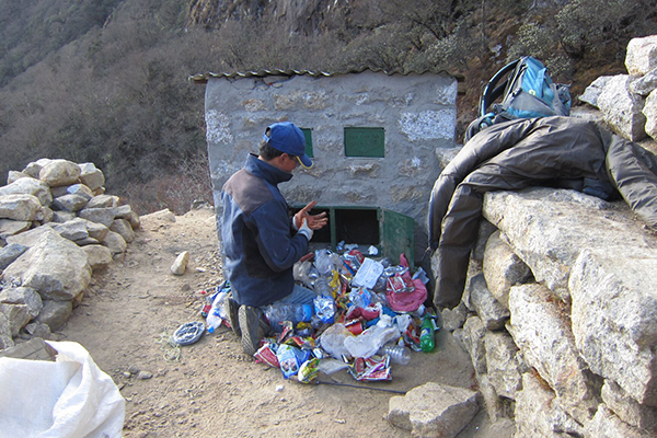 Sagarmatha Pollution Control Committee - Waste management in the Himalayas.