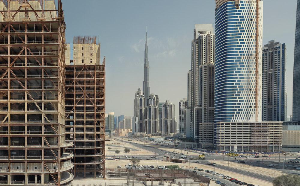 Burj Khalifa Tower - Dubai, UAE 2013
