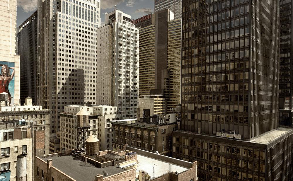Cityscape - Manhattan, New York USA 2008