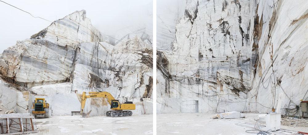 Tavolini I (Diptyque) - Carrara, Italy 2015