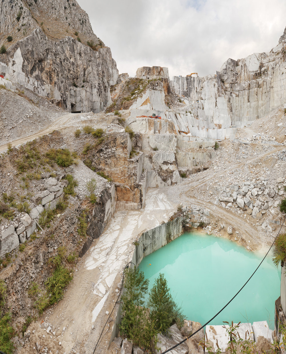 Lake II - Carrara, Italy 2015