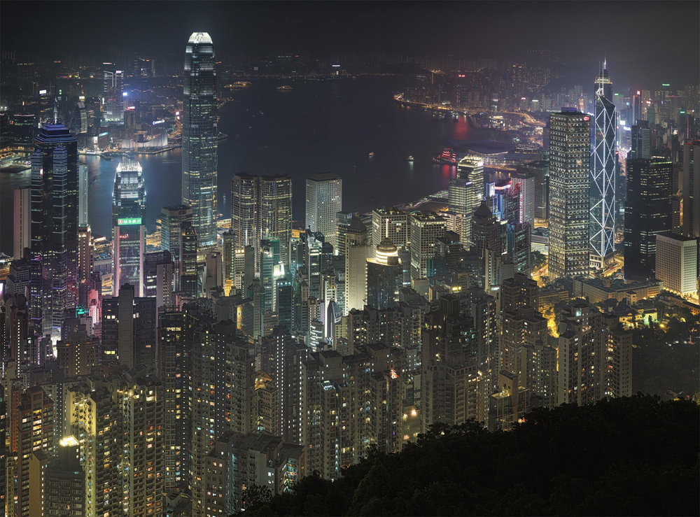 HK from Victoria Peak - Hong Kong, 2013