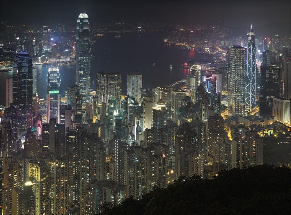 HK from Victoria Peak - Hong Kong, 2013